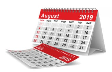 August 2019 In-Person and Virtual Classes Onsite